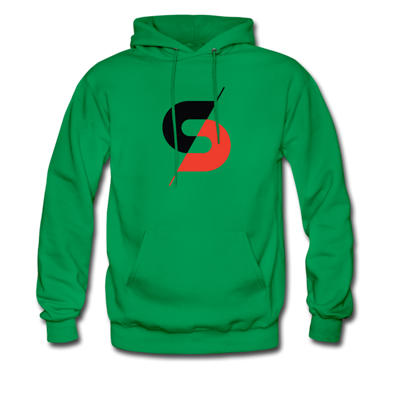 Men's Hoodie (Style B) - kelly green