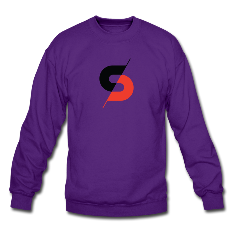 Men's Crewneck Sweatshirt - purple