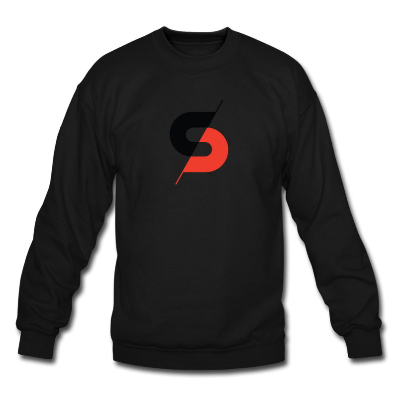 Men's Crewneck Sweatshirt - black