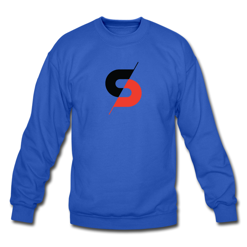 Men's Crewneck Sweatshirt - royal blue