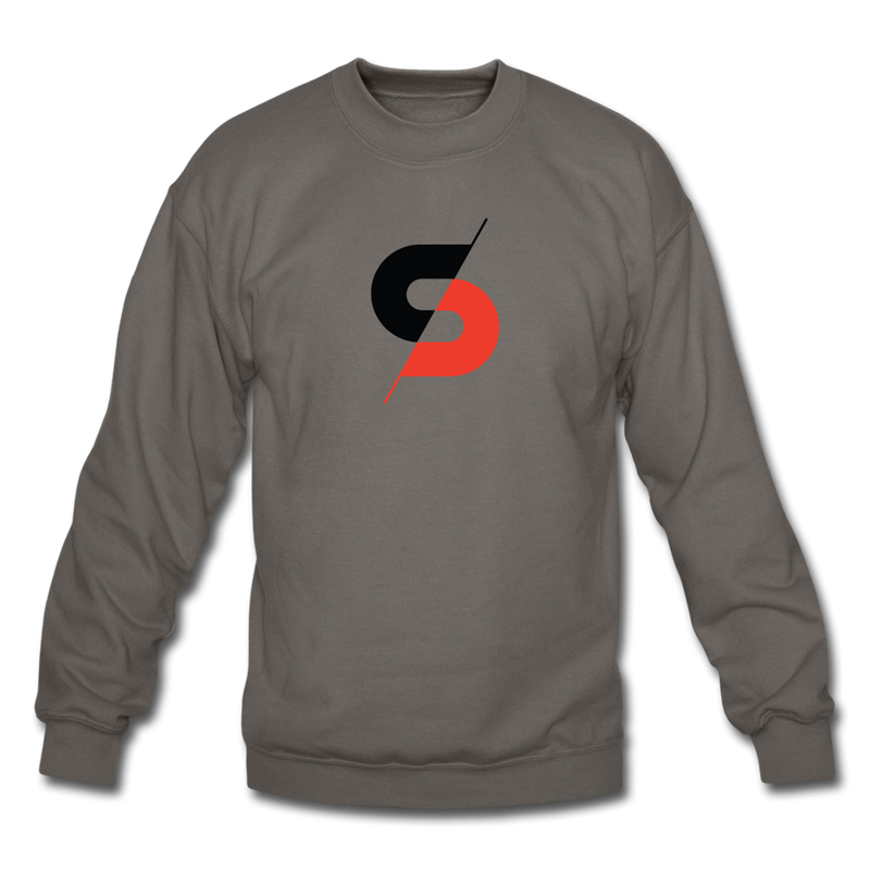 Men's Crewneck Sweatshirt - asphalt gray