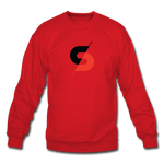 Men's Crewneck Sweatshirt - red