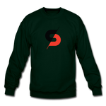 Men's Crewneck Sweatshirt - forest green