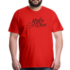 Ruby Deer Men's T-Shirt - red