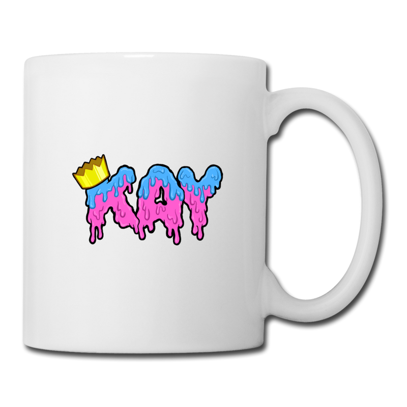The Kay Master Coffee / Tea Mug - white