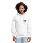 The Kay Master Men's Hoodie - white