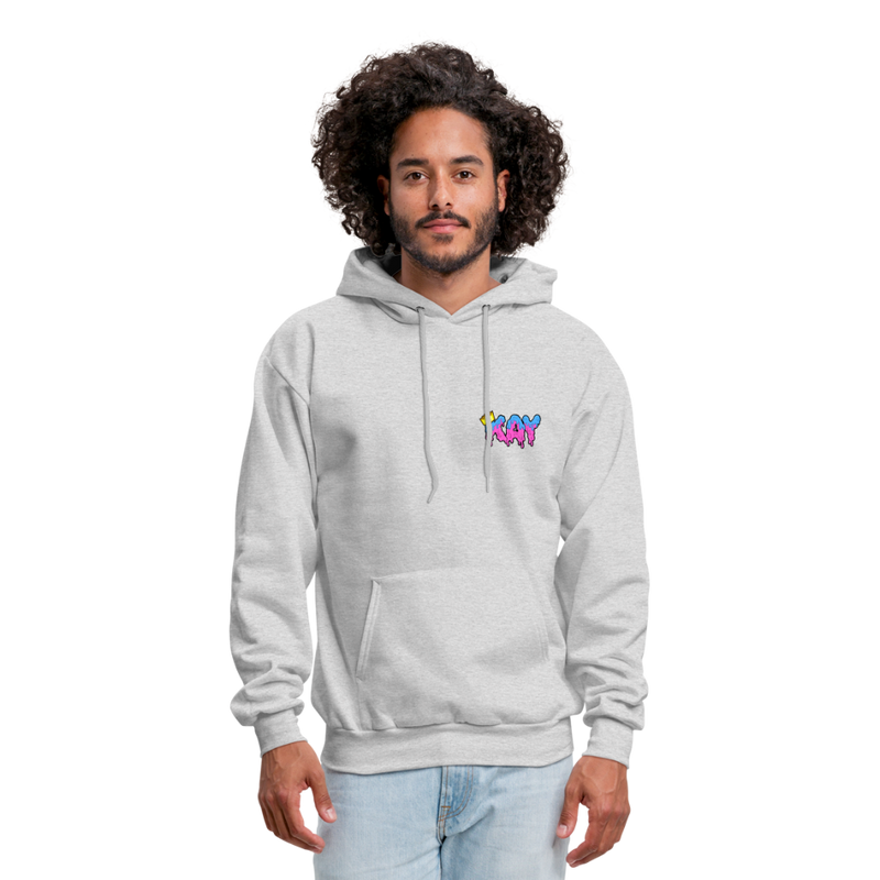 The Kay Master Men's Hoodie - ash