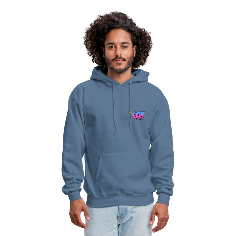 The Kay Master Men's Hoodie - denim blue