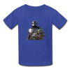 The Mandalorian Kids' T-Shirt - royal blue