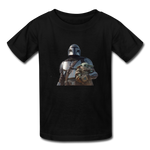The Mandalorian Kids' T-Shirt - black