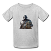The Mandalorian Kids' T-Shirt - heather gray