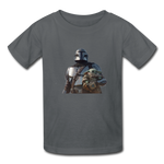 The Mandalorian Kids' T-Shirt - charcoal