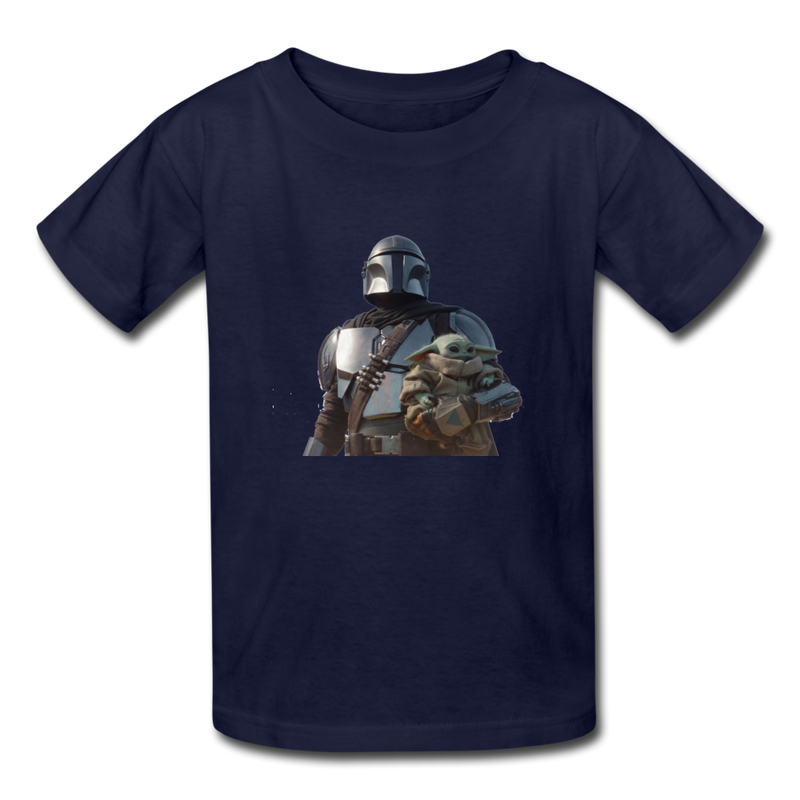 The Mandalorian Kids' T-Shirt - navy
