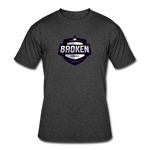 Broken eSports Men's 50/50 T-Shirt - heather black