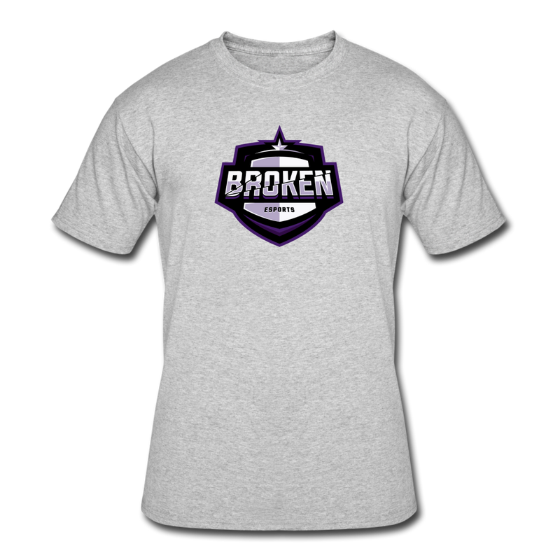 Broken eSports Men's 50/50 T-Shirt - heather gray