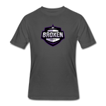 Broken eSports Men's 50/50 T-Shirt - charcoal