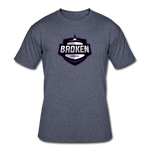 Broken eSports Men's 50/50 T-Shirt - navy heather