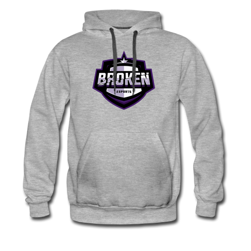 Broken eSports Men's Premium Hoodie - heather gray