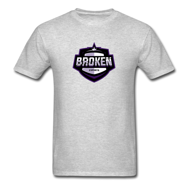Broken eSports Unisex Classic T-Shirt - heather gray