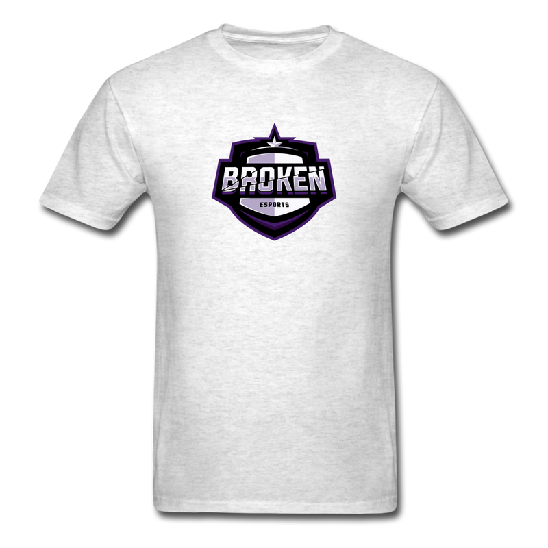 Broken eSports Unisex Classic T-Shirt - light heather gray