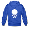 Disc Golf Adult Zip Hoodie - royal blue