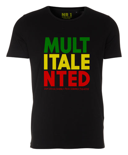 MULTITALENTED | MGP | Svart | T-shirt