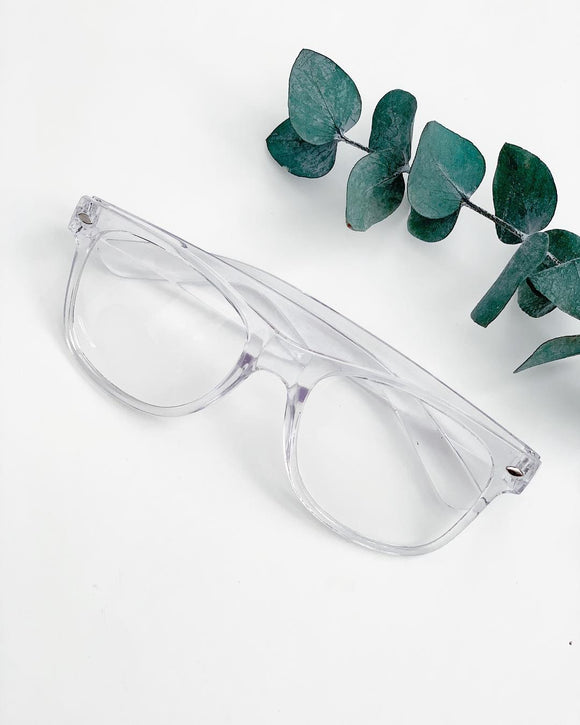 Clear Acrylic Glasses - Resonate Jewelry