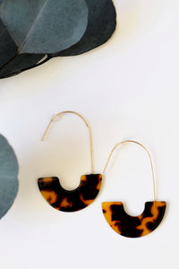 Leopard Tortoise Hooks - Resonate Jewelry