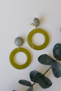 Olive Retro - Resonate Jewelry