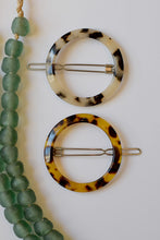 Load image into Gallery viewer, Leopard Tortoise Barrette - Resonate Jewelry