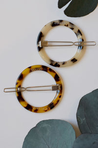 Leopard Tortoise Barrette - Resonate Jewelry