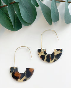 Leopard Hooks - Resonate Jewelry