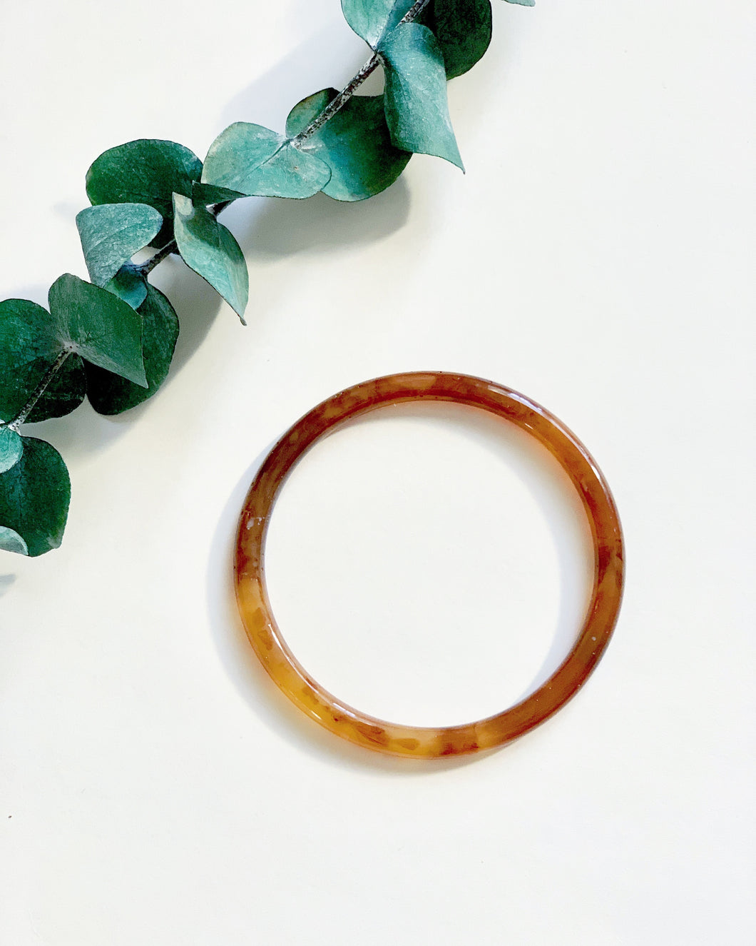 Tortoise Coffee Bangle - Resonate Jewelry