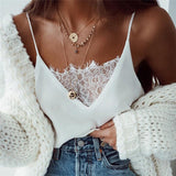 Black and White Lace Tanks - Resonate Jewelry