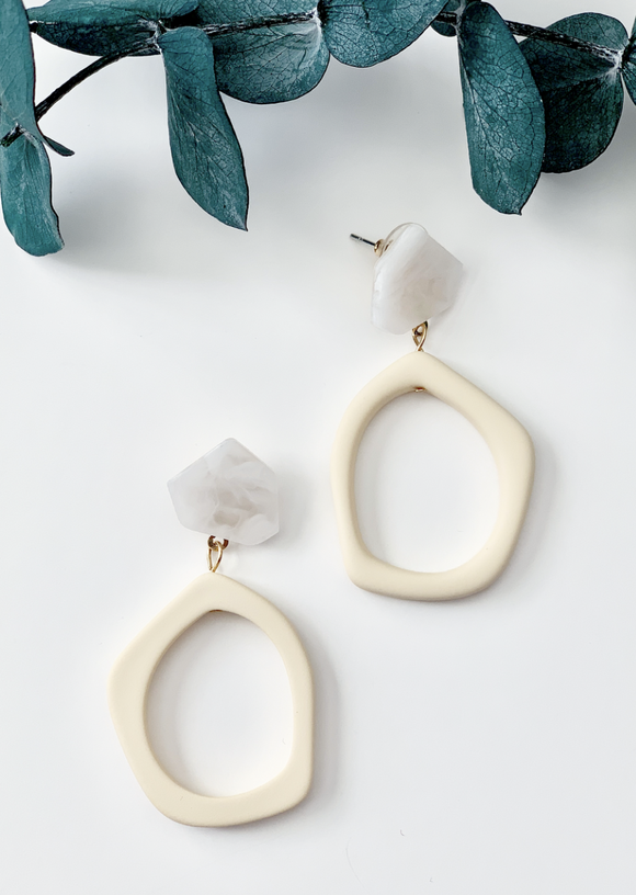 Nude Marble Retro - Resonate Jewelry