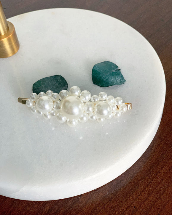 Wedding Pearl Hair Clip - Resonate Jewelry