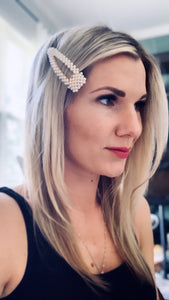 Pearl Vintage Hair Clip - Resonate Jewelry