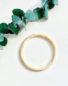 Tortoise Bone Bangle - Resonate Jewelry