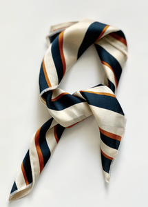 Navy Dreams Hair Scarf - Resonate Jewelry