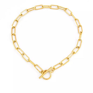 Chocker Thick Chain Necklace 35cm - Resonate Jewelry