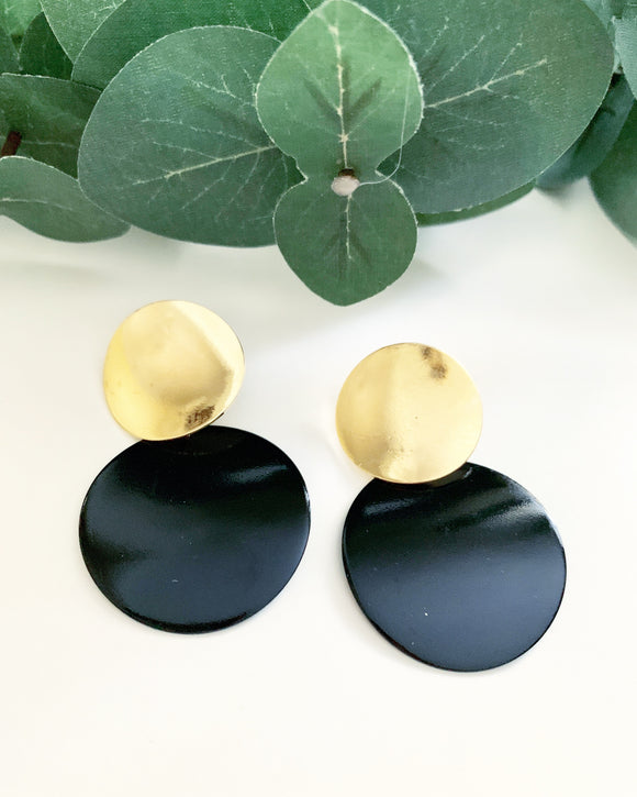 Black & Gold Pendants - Resonate Jewelry