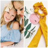 DONATION: Sweet Brave Billie Scrunchie - Resonate Jewelry
