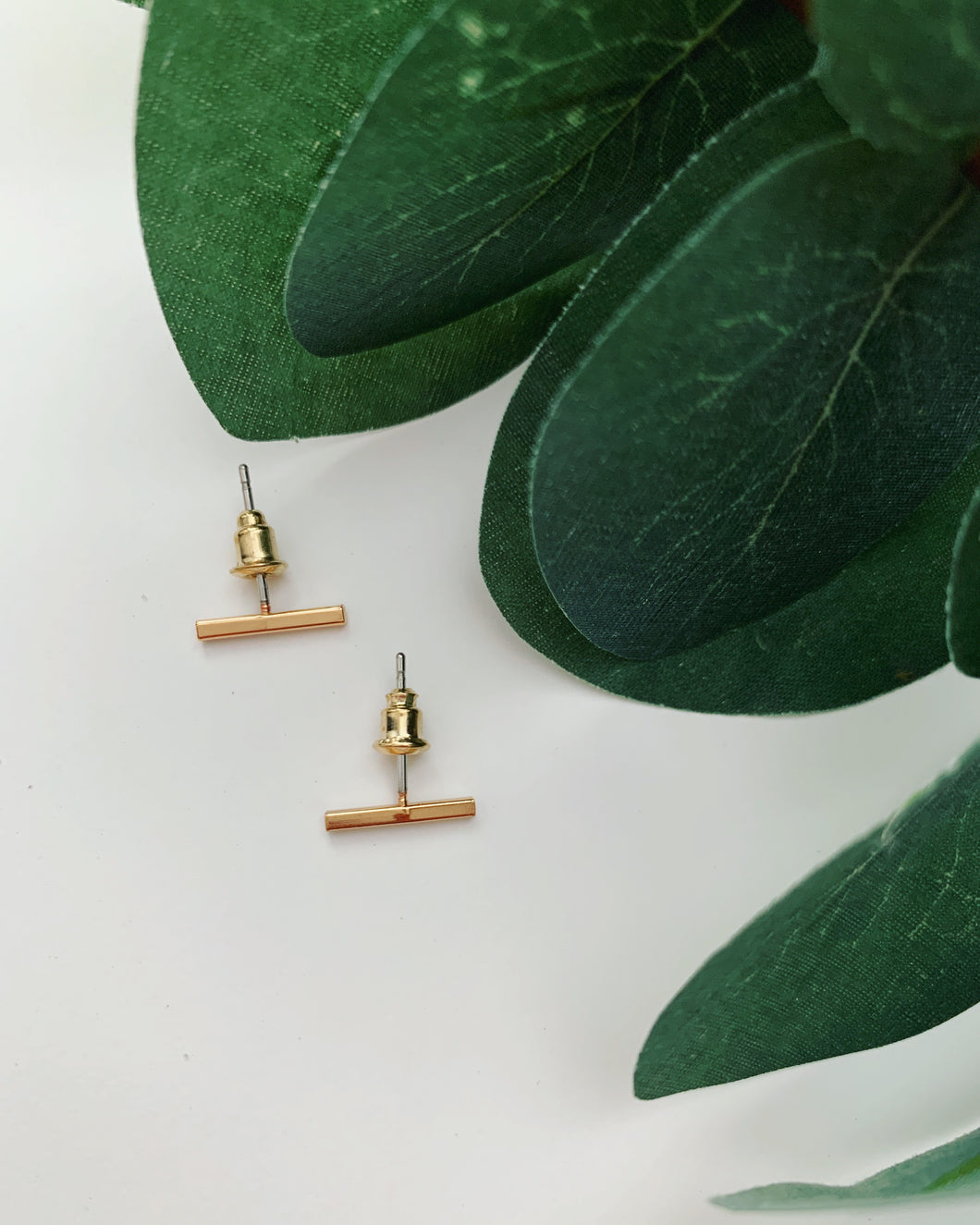 Gold Post Studs - Resonate Jewelry