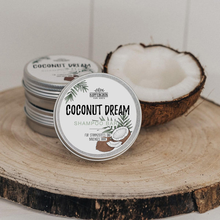 Coconut Dream - coconut shampoo bar