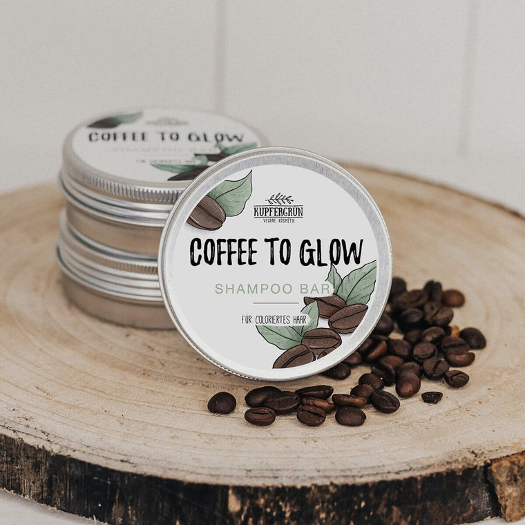 Coffee To Glow - coffee shampoo bar