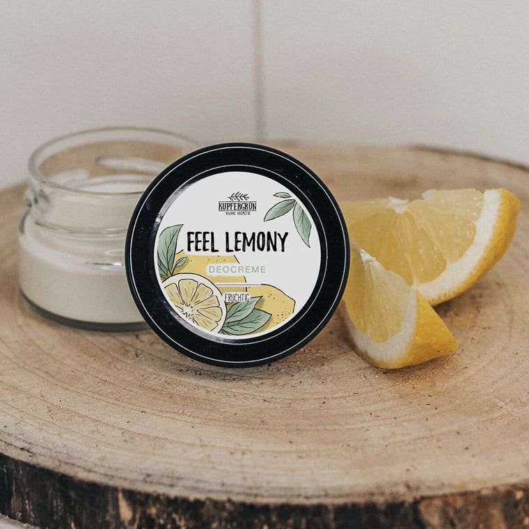Feel Lemony - fruity deodorant cream