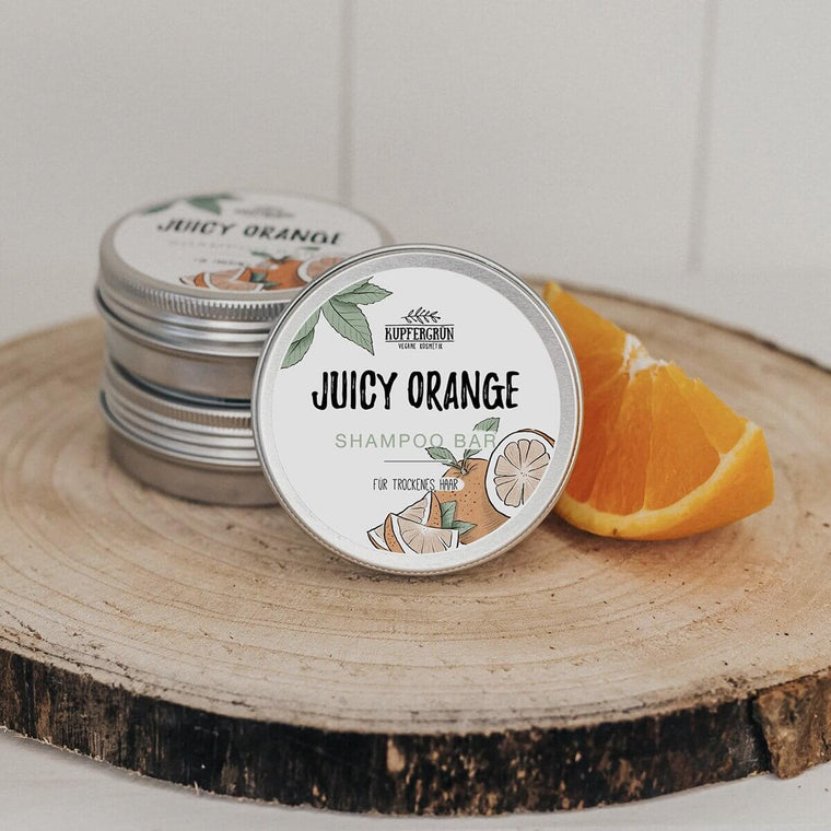 Juicy Orange - orange shampoo bar