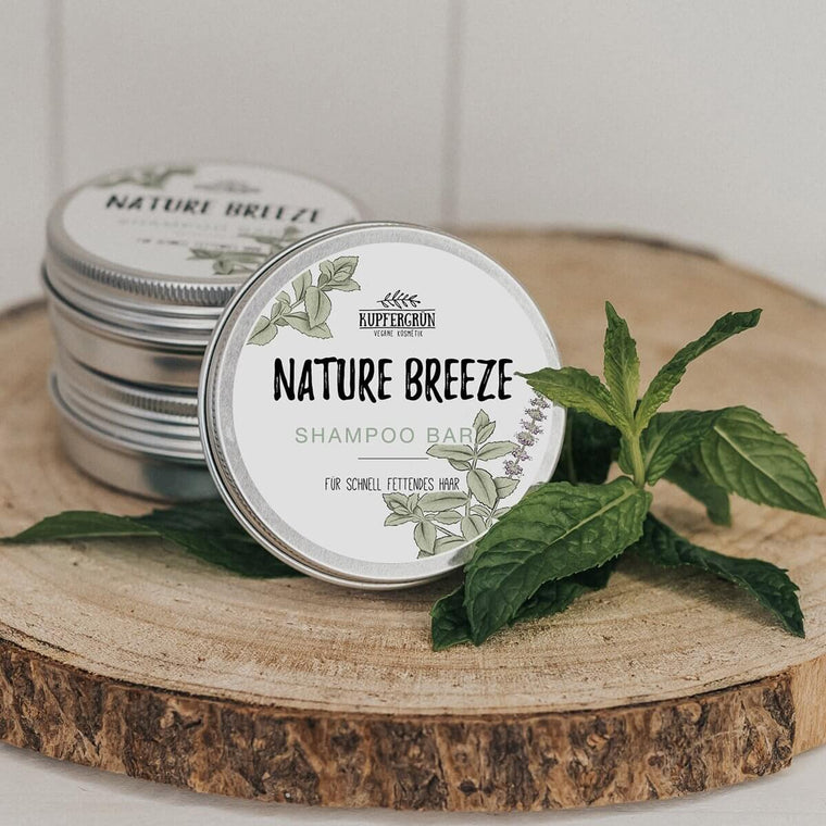 Nature Breeze - peppermint shampoo bar