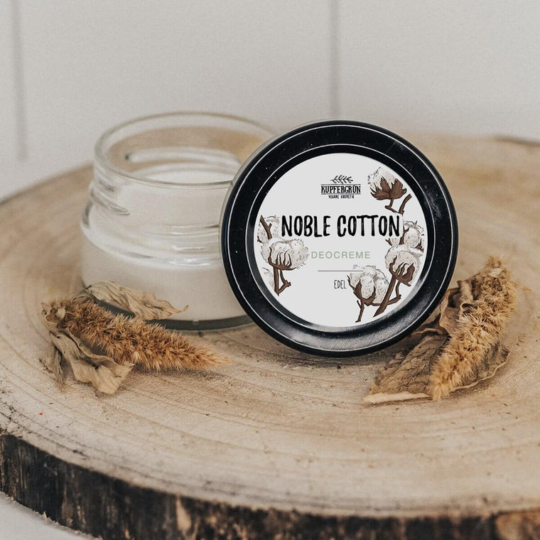 Noble Cotton - edle Deocreme