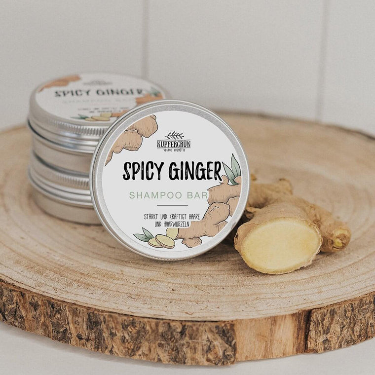 Spicy Ginger - ginger shampoo bar